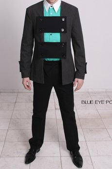 BLUE EYE POP - Marynarka męska MBEP_M01