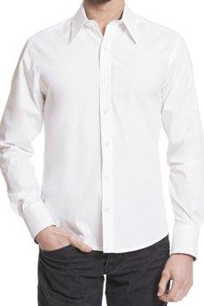 BLUE EYE POP - Biała koszula męska MBEP_K03
