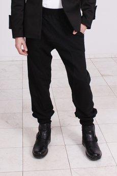BLUE EYE POP - Męskie spodnie dresowe w wydaniu eleganckim MBE