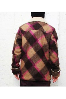 RUSHdnm - WOOL JACKET/ CAPTAIN QUINT BROWN