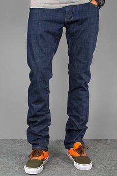 Malita Clothing - Spodnie Malita STRIPES blue jeans NEW slim fit