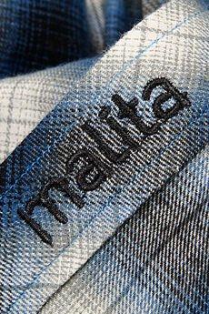 Malita Clothing - Koszula Malita COWBOY black/blue