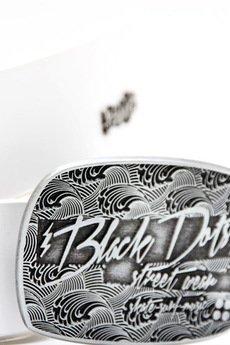 Black Dots Street Wear - Pasek White/surf