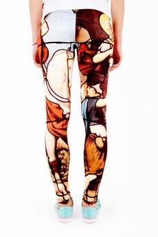 - EVC DSGN / legginsy Witraż LGG