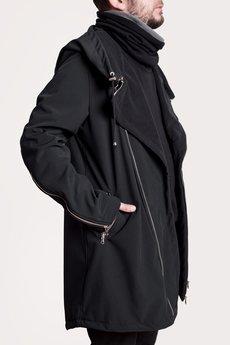 - męski płaszcz
