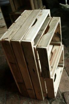Regalia Polska Manufaktura - Komplet skrzynek ze starego drewna
