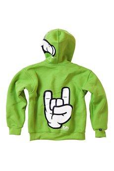BABYHOOD - Bluza Hand Message Green