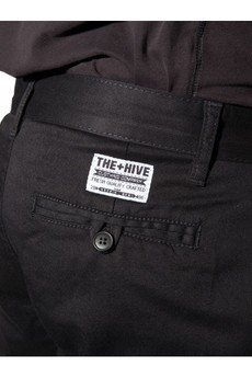 The Hive - CLASSIC CHINO SLIM BLACK