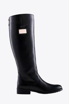 Gloss Shoes - Oficerki z blaszką z boku