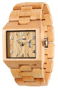 WeWood - oryginalne drewniane zegarki   - drewniany zegarek WeWood SCULPTOR BEIGE