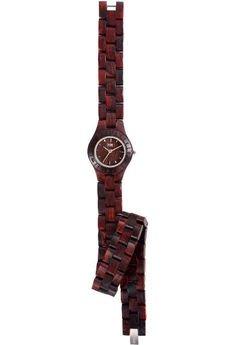 xxx-WeWood - oryginalne drewniane zegarki - drewniany zegarek WeWood VENUS BROWN