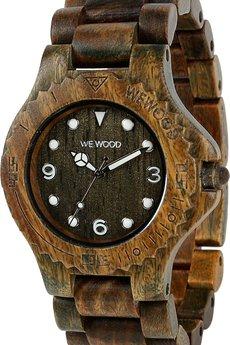 WeWood - oryginalne drewniane zegarki   - drewniany zegarek WeWood ALUDRA ARMY