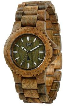 WeWood - oryginalne drewniane zegarki   - drewniany zegarek WeWood DATE ARMY
