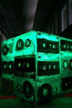 sl - Zielona lampa sześcian