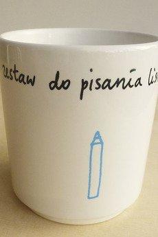 STEINKELLER ILLUSTRATION - ZESTAW DO PISANIA (mały kubek)