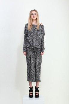 YES TO DRESS by Bożena Karska - LUNA total long melange dress