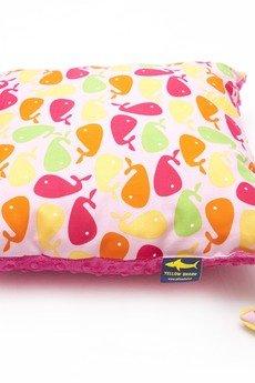 - Komplet wielorybki kocyk i poduszka