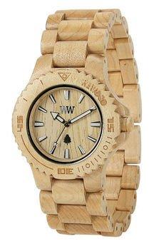 xxx-WeWood - oryginalne drewniane zegarki - drewniany zegarek WeWood DATE BEIGE