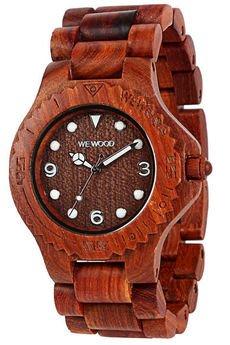 WeWood - oryginalne drewniane zegarki   - drewniany zegarek WeWood ALUDRA BROWN