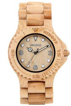 - drewniany zegarek WeWood ALUDRA BEIGE
