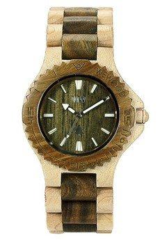 xxx-WeWood - oryginalne drewniane zegarki - drewniany zegarek WeWood DATE BEIGE/ARMY