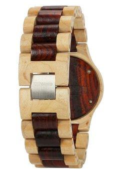 xxx-WeWood - oryginalne drewniane zegarki - drewniany zegarek WeWood DATE BEIGE/BROWN