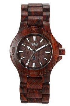 - drewniany zegarek WeWood DATE BROWN