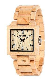 xxx-WeWood - oryginalne drewniane zegarki - drewniany zegarek WeWood CALISTO BEIGE