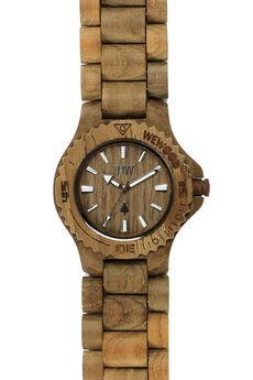 - drewniany zegarek WeWood DATE TEAK