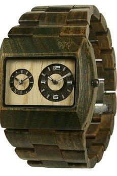 xxx-WeWood - oryginalne drewniane zegarki - drewniany zegarek WeWood JUPITER ARMY