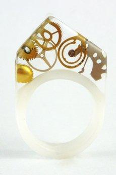 SCRADEUS - Żywicowy pierścień zegarkowy