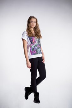 Yeah Bunny - Kwiecisty Tshirt - I'm a f*** lady