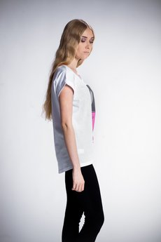 - Tshirt z Twoim ulubionym lakierem - pink