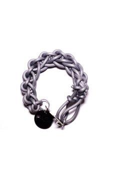 - bransoleta WIĘZI/ TIES dark grey