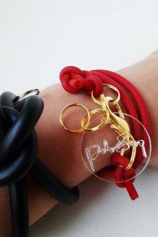 - bransoleta MINI czerwona