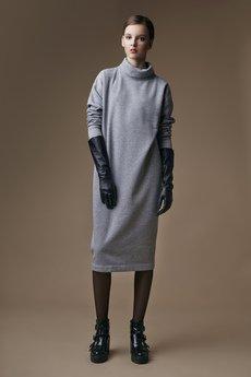 CHOMISAWA - Sportowa sukienka z golfem kolekcja Four Season