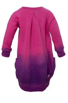 Mumoo - Sukienka róż-filet OMBRE