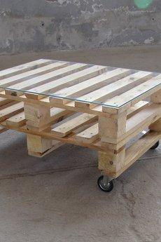 Kolorum - STOLIK KAWOWY Z PALET!!naturalne drewno.