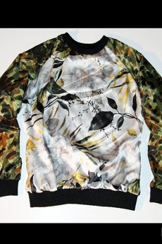 BLCKSVN - Flowers Blouse&Pants BLACK SWAN from 3BOXES