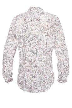 marthu - koszula marthu LETTERS sh0003