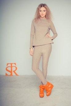 - Spodnie slim z obniżonym krokiem STR