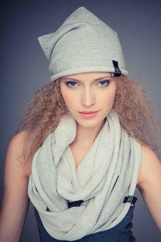 Gosia Strojek - Zestaw czapka i komin STR (unisex)