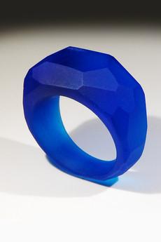 Monopolka - kanciak niebieski transparentny