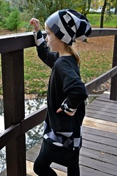 JJ Fashion - SUKIENKA CYFRA