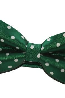 - Mucha gotowa zielona w kropki