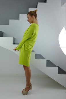 YES TO DRESS by Bożena Karska - DRESICA lemon dress