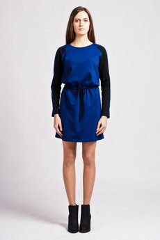 Lanti - Dress with quilted accents  - SUK 110