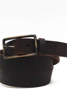 Black Dots Street Wear - Pasek Classic-Brown 30