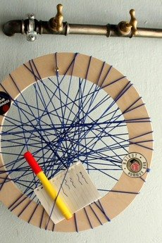 OneOnes Creative Studio - String Out! // navy blue wheel