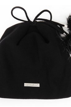 COL CLAUDINE PL - czapka z pomponami